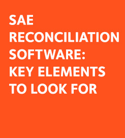 sae reconciliation software
