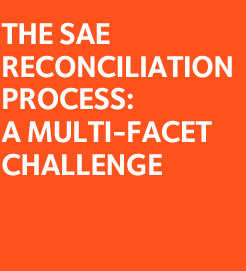 SAE Reconciliation Process: a multi-facet challenge